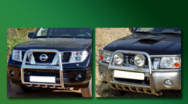 Non EC front bars and bullbars